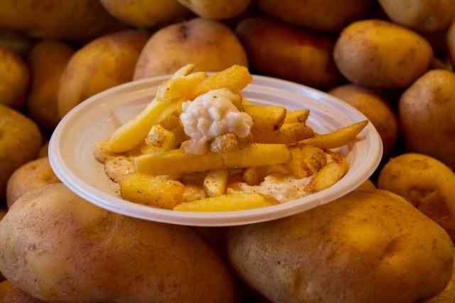 patatine cacio e pepe