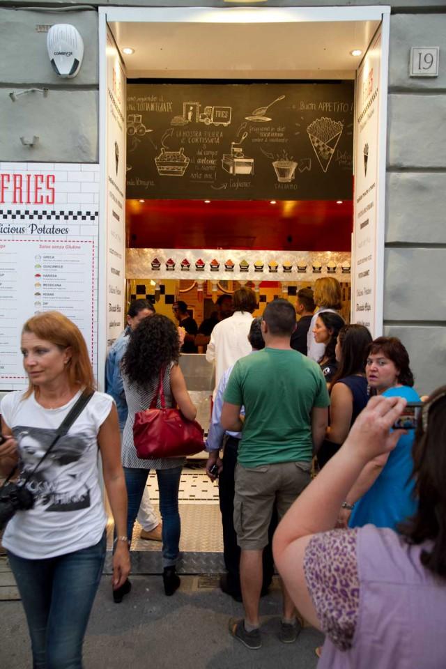 patatine fritte fries inaugurazione