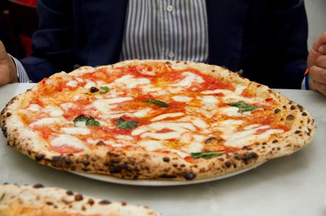 pizza Margherita da Michele