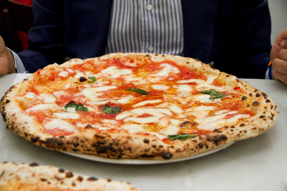 pizza Margherita da Michele