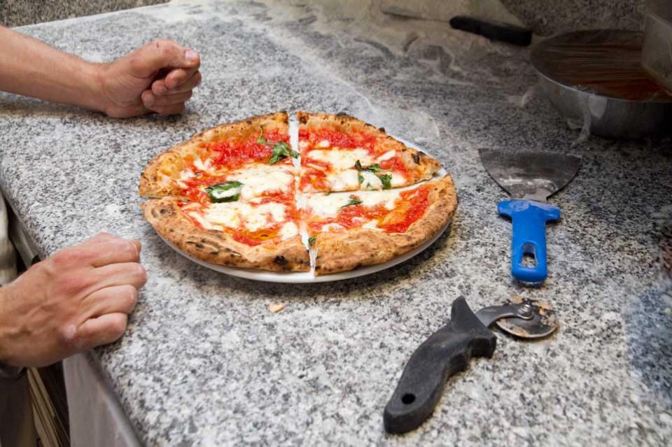 pizza margherita Ciro Coccia
