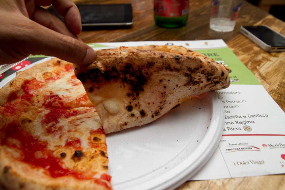 pizza margherita cottura