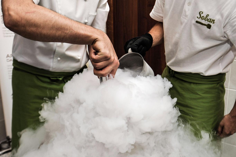 produzione gelato molecolare soban