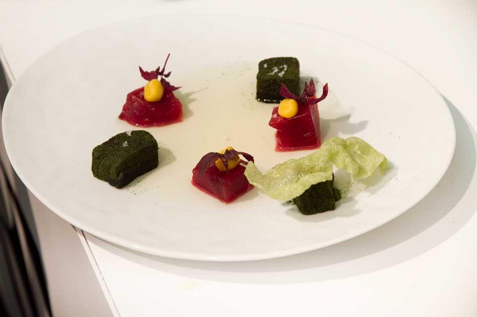 Taste of roma ricetta qualit prezzo il tonno crudo di for Cucinare a 70 gradi