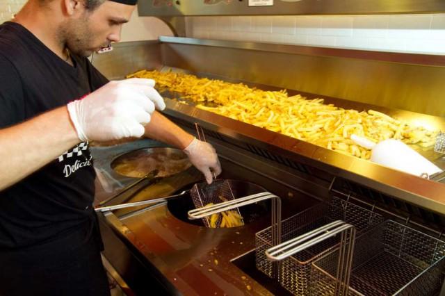 vasche frittura patatine
