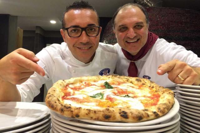 Gino Sorbillo e Gennaro Salvo Milano