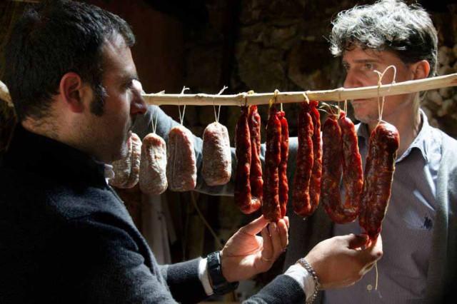 Soppressata e salsiccia del Vallo di Diano