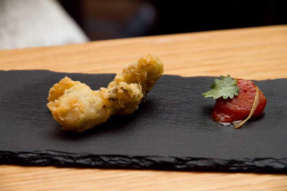 ostrica tempura