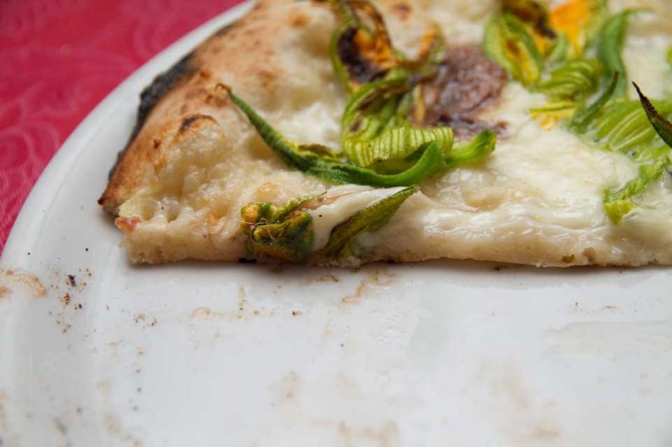 pizza fiori alici