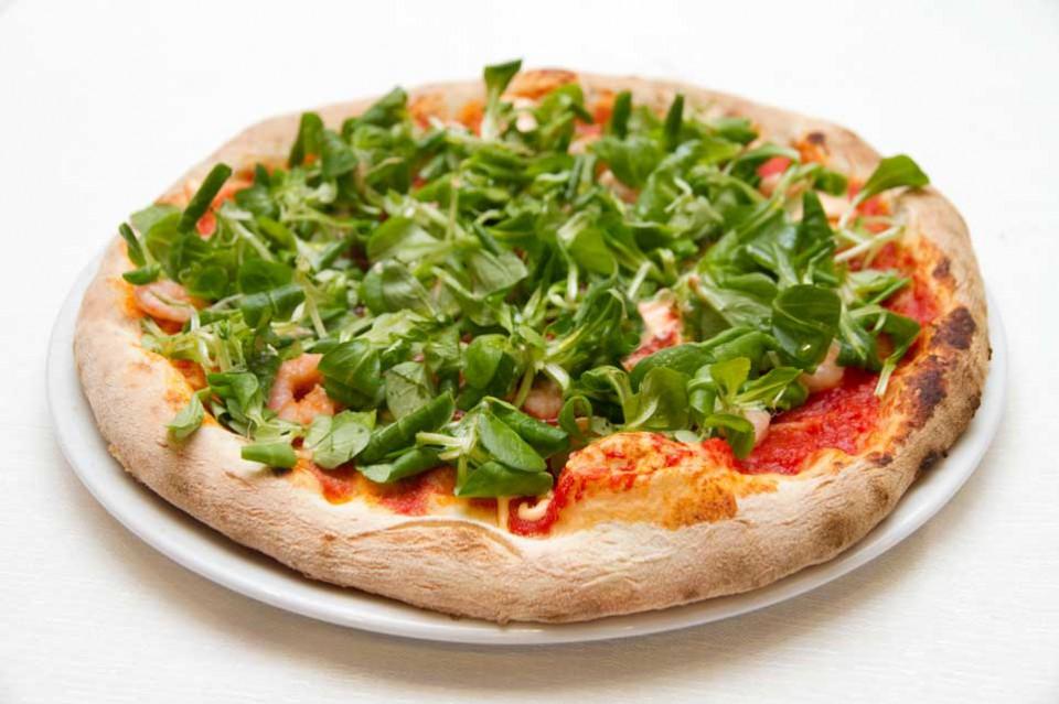 pizza la nave gamberetti