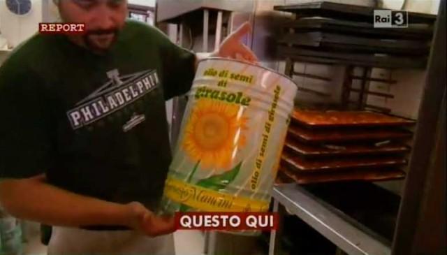 pizza olio girasole