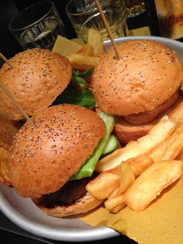 trittico hamburger