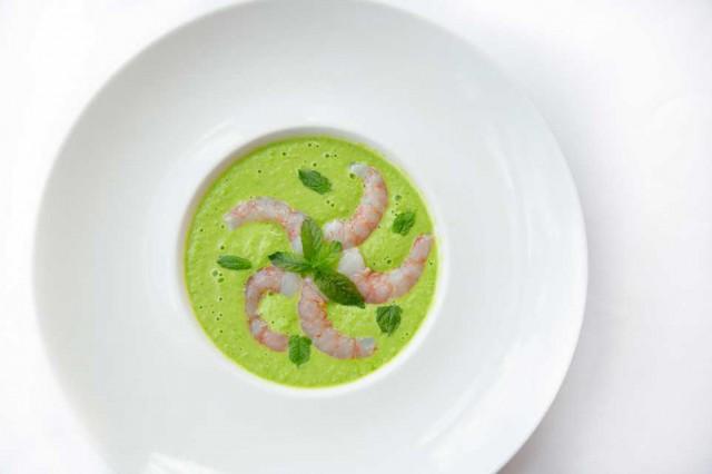 zuppa-piselli-gamberi