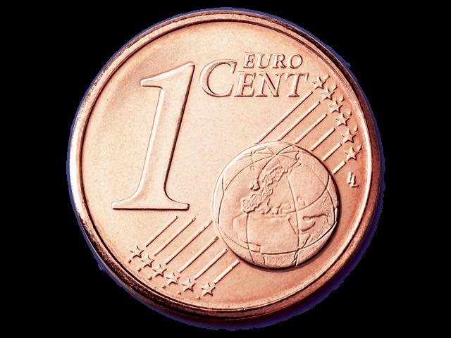 1 centesimo