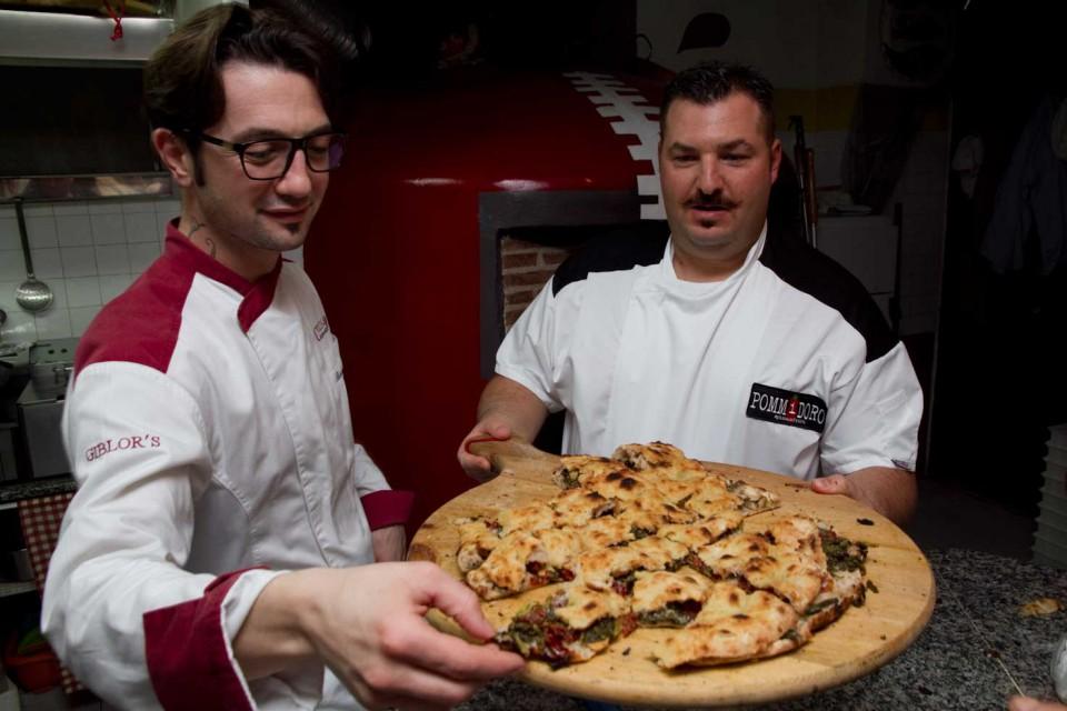 Bilali Rizzo pizza ripiena