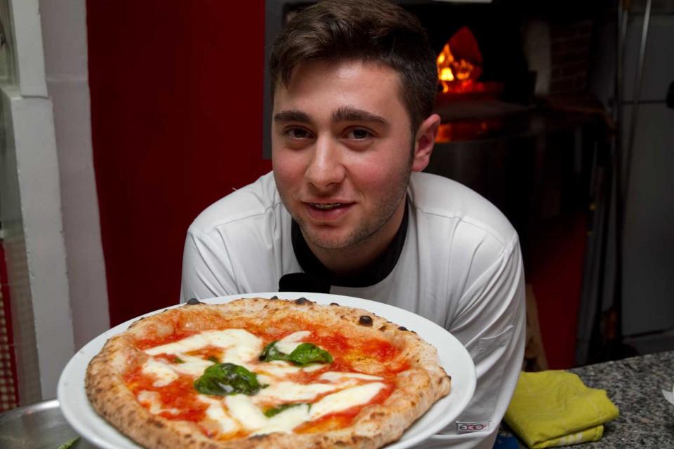 Ciro Oliva pizza margherita