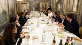 Roma. Indovina di chi è la pizza offerta da Renzi a Blair