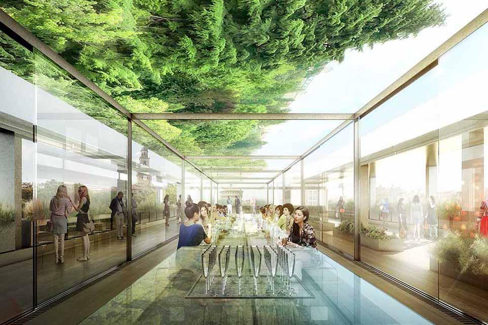 Milano il ristorante di alta cucina e design aprir alla for Ristoranti di design