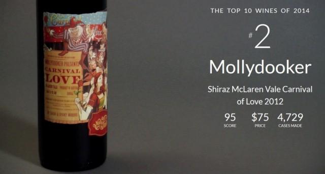 Top 10 Wine Spectator no 2