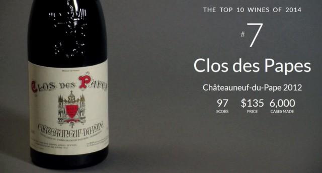 Top 10 Wine Spectator no 7