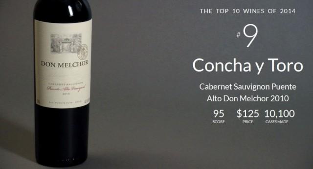 Top 10 Wine Spectator no 9