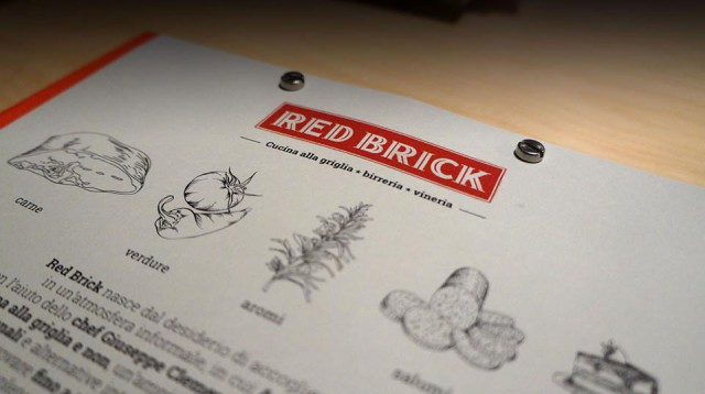 menu Red Brick