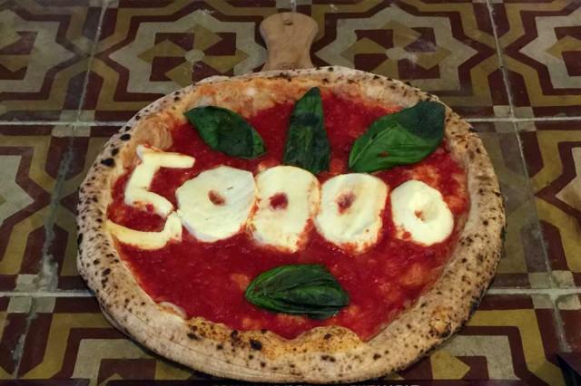 pizza Unesco 50 mila