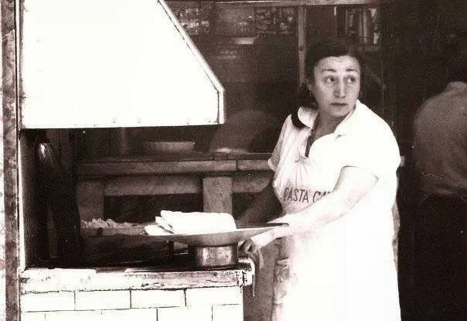 Esterina Sorbillo pizza fritta