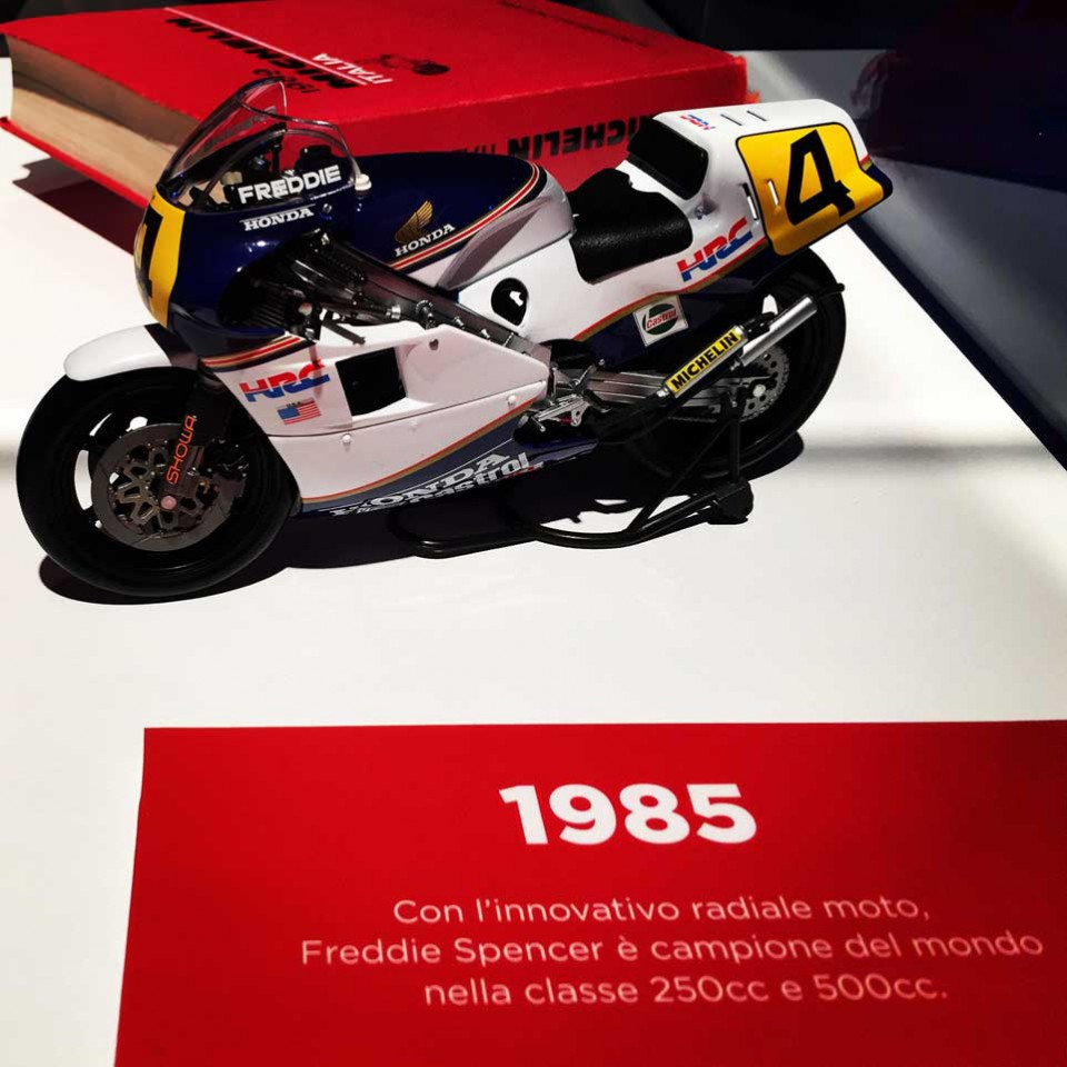 Freddie Spencer Michelin Guida
