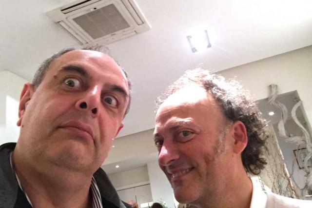 Vincenzo Pagano e Moreno Cedroni
