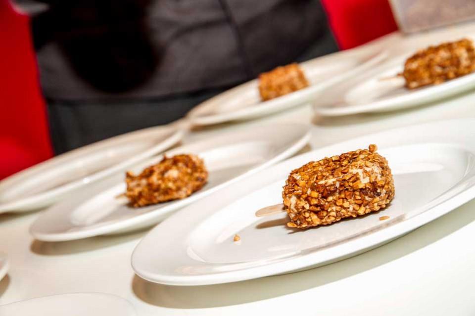 croccantino di foie gras