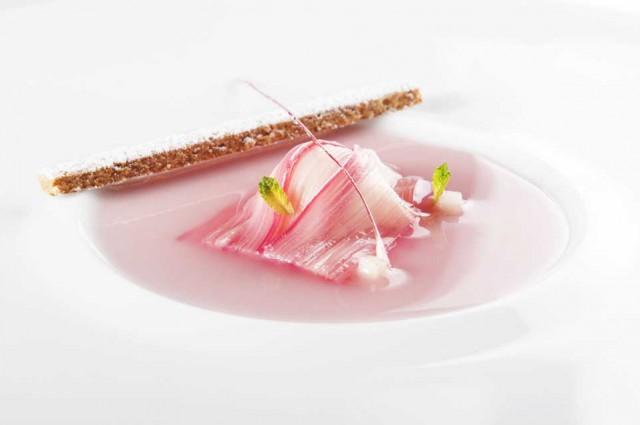 dolci ortaggi ravioli di rabarbaro