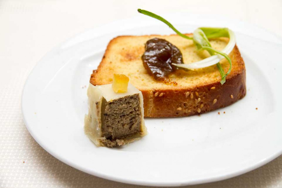 fegatini come foie gras sora maria e arcangelo