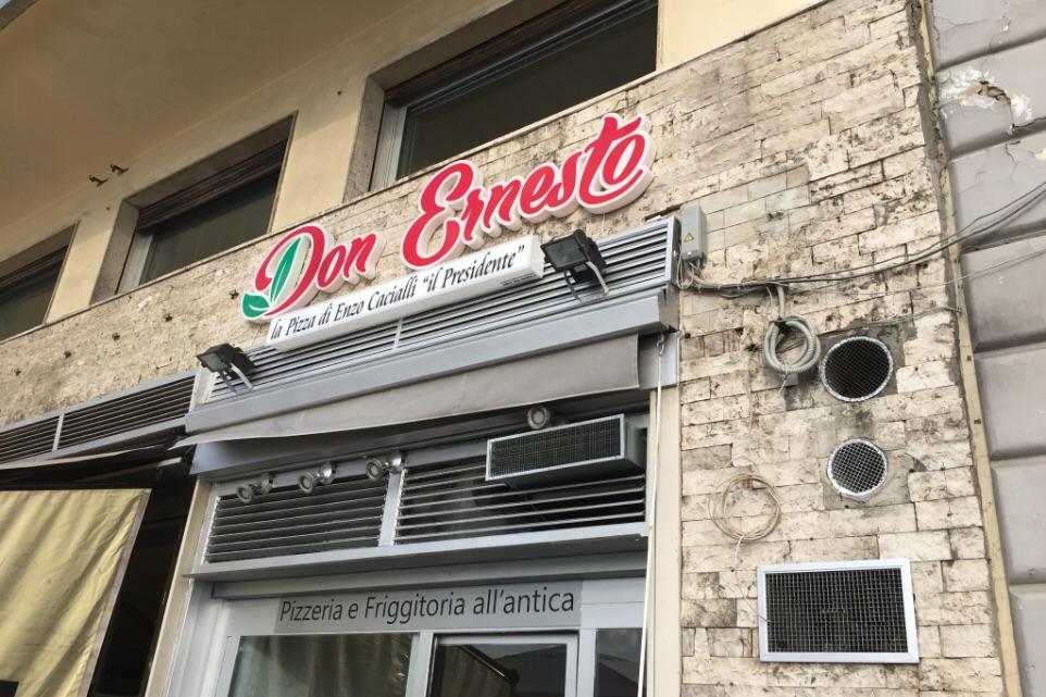 Pizzeria Don Ernesto a Napoli