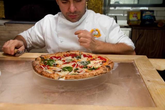 pizza margherita secondo Civitiello