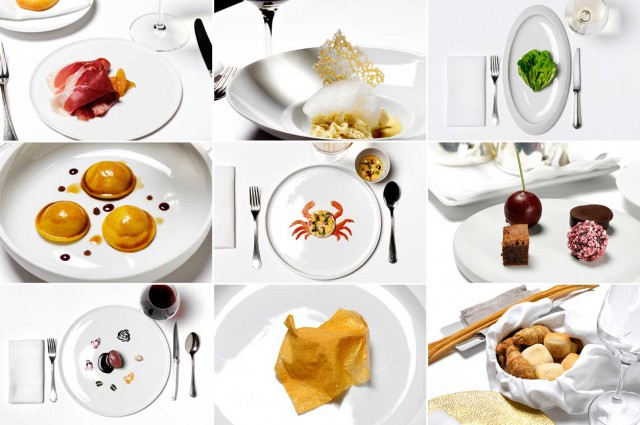 pranzo da Massimo Bottura