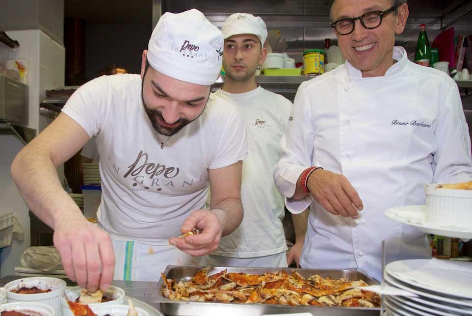 Barbieri pizza Pepe