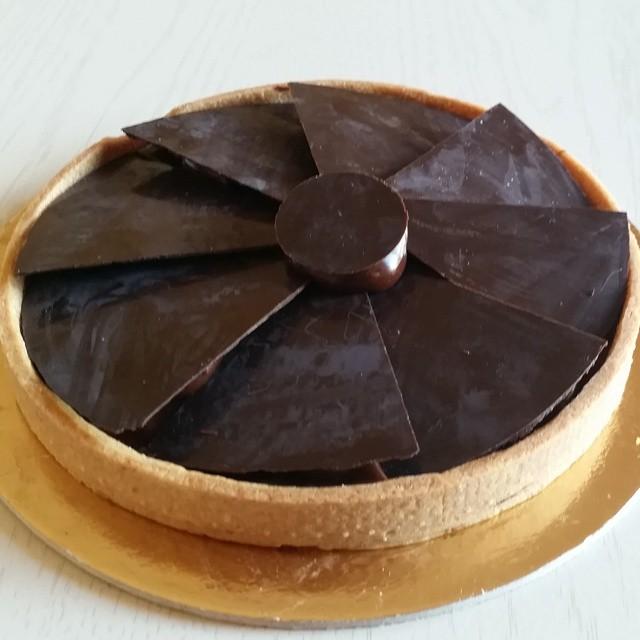 Crostata al cioccolato Aranzulla