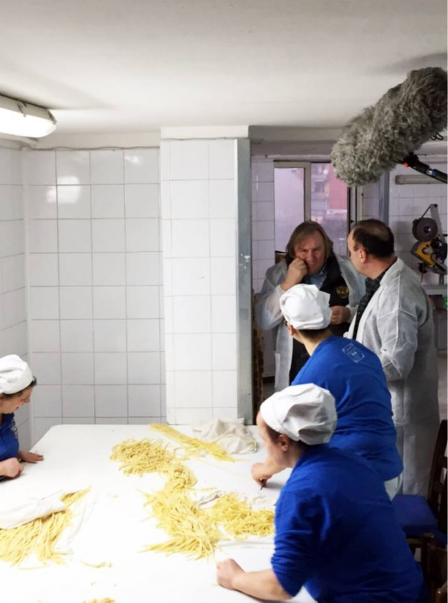 Depardieu pasta Gentile