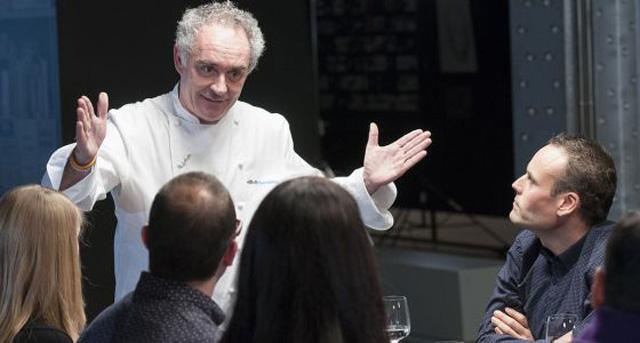 Ferran Adrià conferenza