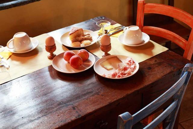 osteria La Vrille colazione