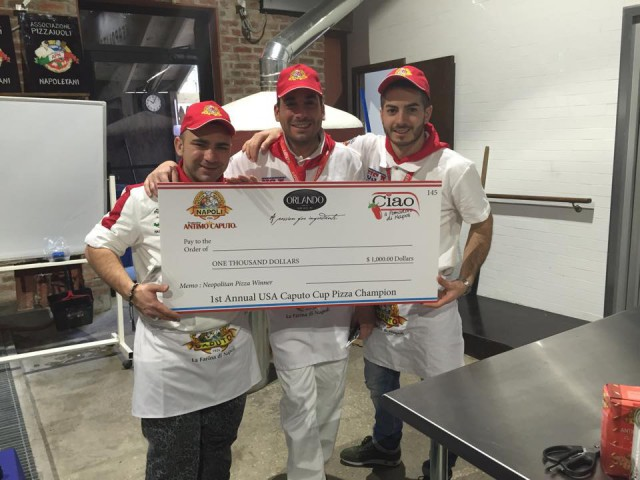 assegno vincitore pizza stile napoletano