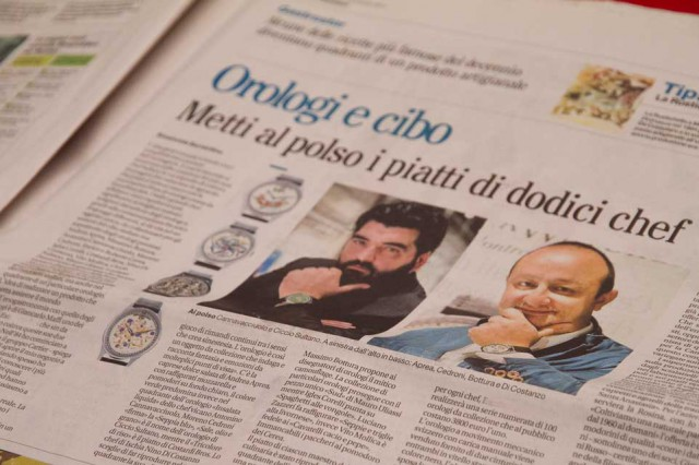 orologi chef Maffi Pignataro Mattino