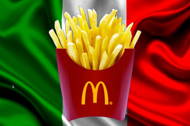 patatine McDonald's Italia