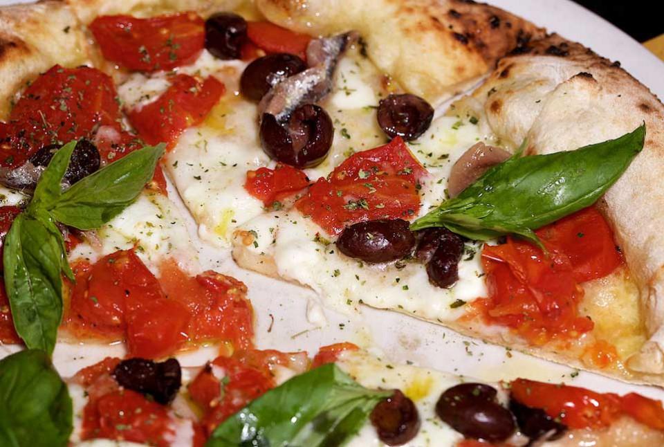 pizza Sole nel Piatto