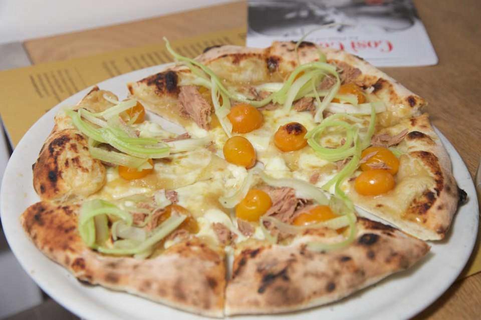 pizza alletterata Franco Pepe