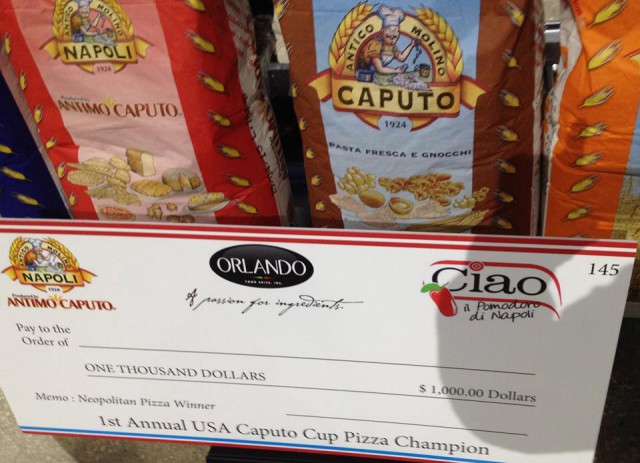 premio pizza stile napoletano New York