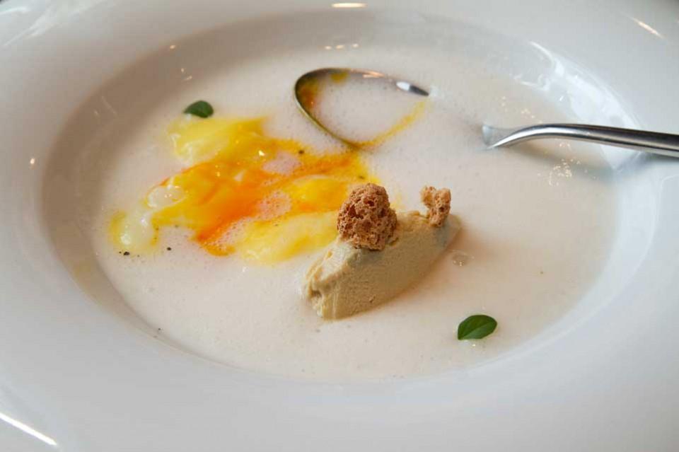 uovo porchetta foie gras