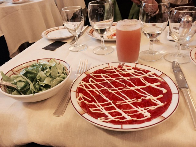 Harry's bar carpaccio e Bellini