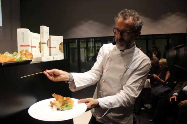 Massimo Bottura spaghetto lasagna